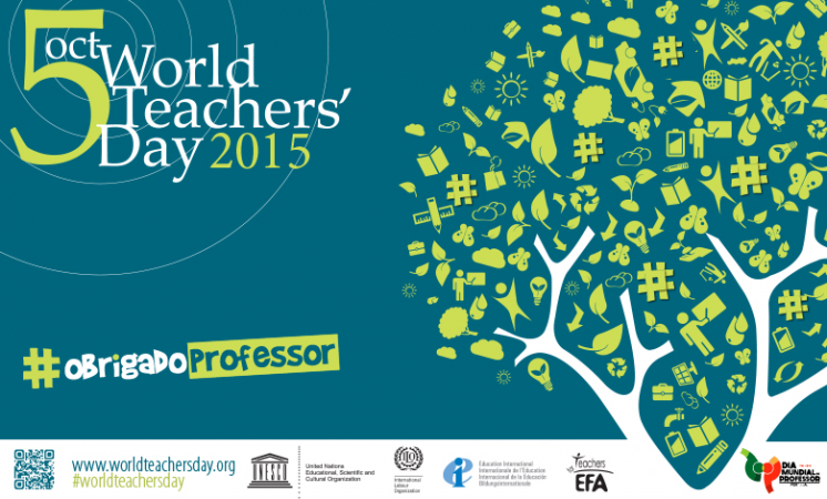 World Teachers' Day: Empowering teachers, building sustainable societies